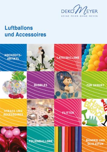 Luftballons und Accessoires
